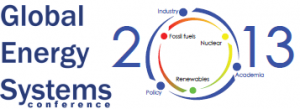 Global Energy Systems Conference 2013