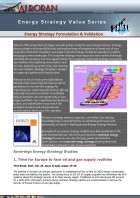 Energy Strategy Formulation & Validation